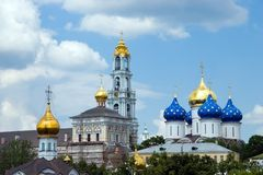 Christianity church in Russia. Summer day Stock Photo