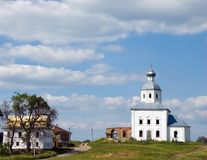 Christianity church of St. Elias in Russia, Suzdal Royalty Free Stock Image
