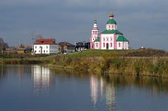 Christianity church of St. Elias in Russia, Suzdal Stock Photo