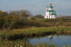 Christianity church of St. Elias in Russia, Suzdal Stock Image