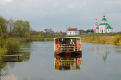 Christianity church of St. Elias in Russia, Suzdal Stock Photography