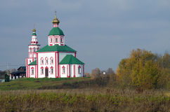 Christianity church of St. Elias in Russia, Suzdal Stock Images