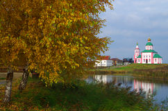 Christianity church of St. Elias in Russia, Suzdal Stock Photos