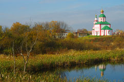Christianity church of St. Elias in Russia, Suzdal Royalty Free Stock Photography