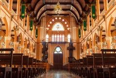 Christianity church in thailand. Inside christianity church in thailand Royalty Free Stock Image