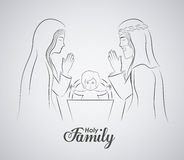 Christianity design,  illustration. Stock Photography