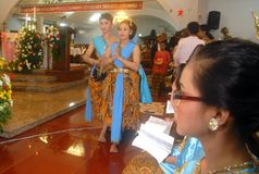 CHRISTIANITY IN INDONESIA Stock Photos