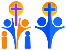 Christianity logo Stock Photos