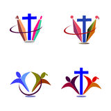 Christianity logo Royalty Free Stock Photos