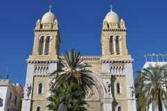 Christianity in North Africa Tunisia Stock Images