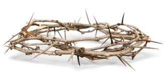 Crown of Thorns. Christianity religion isolated crown of thorns crown thorn easter Stock Photography