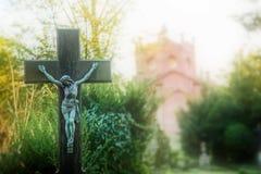 Christianity Religion Symbol Jesus Sculpture Stock Photography
