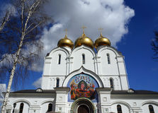 Christianity Russia, Yaroslavl city, Uspensky Cathedral Stock Photography