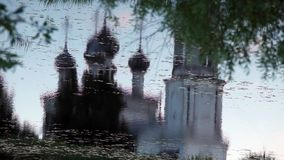 Christianity temple Reflection in water Royalty Free Stock Photography