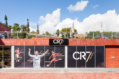 The Christiano Ronaldo Pestana CR Hotel and Museum. Is pictured on the Funchal waterfront on the Portuguese island of Madeira Stock Images