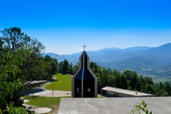 Christians church in bosnia and herzegovina Royalty Free Stock Photo