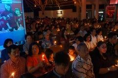 Christians pray Royalty Free Stock Photography