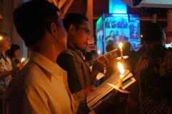 Christians pray Royalty Free Stock Photo