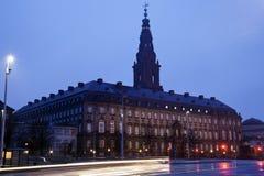 Christiansborg城堡 图库摄影