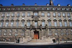Christiansborg Royalty Free Stock Photos