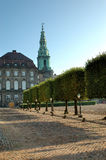 Christiansborg Copenhaga Imagens de Stock Royalty Free