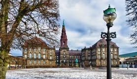 christiansborg Copenhagen danish parlament Fotografia Stock