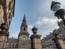 christiansborg Copenhagen danish parlament Obrazy Stock