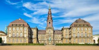 Christiansborg in Copenhagen, Denmark Stock Images