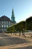 Christiansborg Copenhague Imágenes de archivo libres de regalías