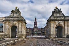 christiansborg danish parlament Zdjęcia Royalty Free