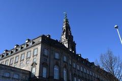 christiansborg duński domowy pałac parlament Obrazy Stock