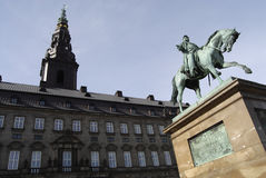 CHRISTIANSBORG Stock Image