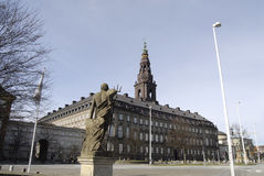 CHRISTIANSBORG Stock Photo