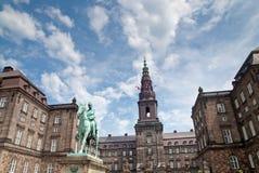 Christiansborg Pałac zdjęcia royalty free
