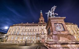Christiansborg Palace Stock Photography