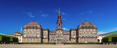 Christiansborg Palace in Copenhagen, Denmark Stock Images