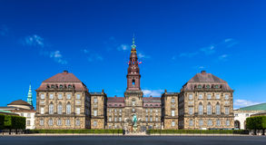 Christiansborg Palace in Copenhagen Stock Photography
