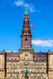 Christiansborg Palace in Copenhagen Royalty Free Stock Photo