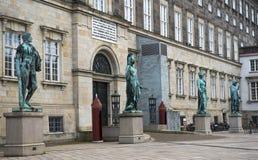 Christiansborg Palace, Copenhagen Stock Images