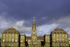 Christiansborg Palace in Copenhagen, Denmark Royalty Free Stock Images
