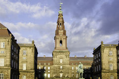 Christiansborg Palace in Copenhagen, Denmark Stock Photo