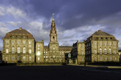 Christiansborg Palace in Copenhagen, Denmark Stock Photography
