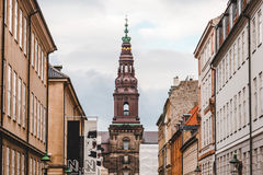 Christiansborg Palace in Copenhagen Royalty Free Stock Photo