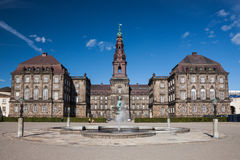 Christiansborg Palace, Copenhagen Stock Photography