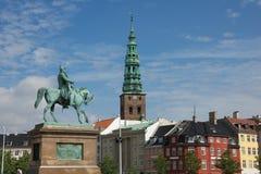 Christiansborg Palace King Christian IX Royalty Free Stock Photography