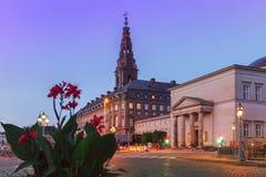 Christiansborg Palace, Copenhagen, Denmark royalty free stock images