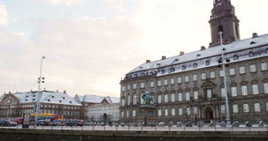 Christiansborg Palace stock video