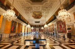 Christiansborgpaleis stock fotografie