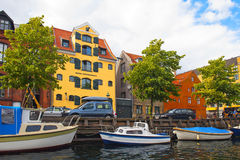 Christianshavn Foto de Stock Royalty Free