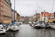 Christianshavn Canal Stock Photo